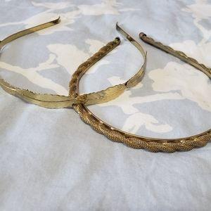 🆕️🌺Gold Headband Bundle